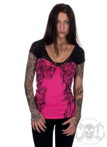 Metal Mulisha Emma Top