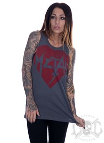 Metal Mulisha Lightning Muscle Tank