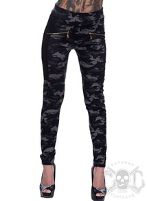 eXc Dark Camo Skull Tights