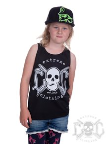 eXc Kids Your Name Tank, Svart