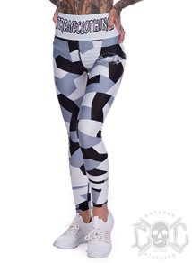 eXc Snow Camo Training Tights HW