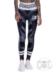 eXc Black N Grey Camo Tight HW